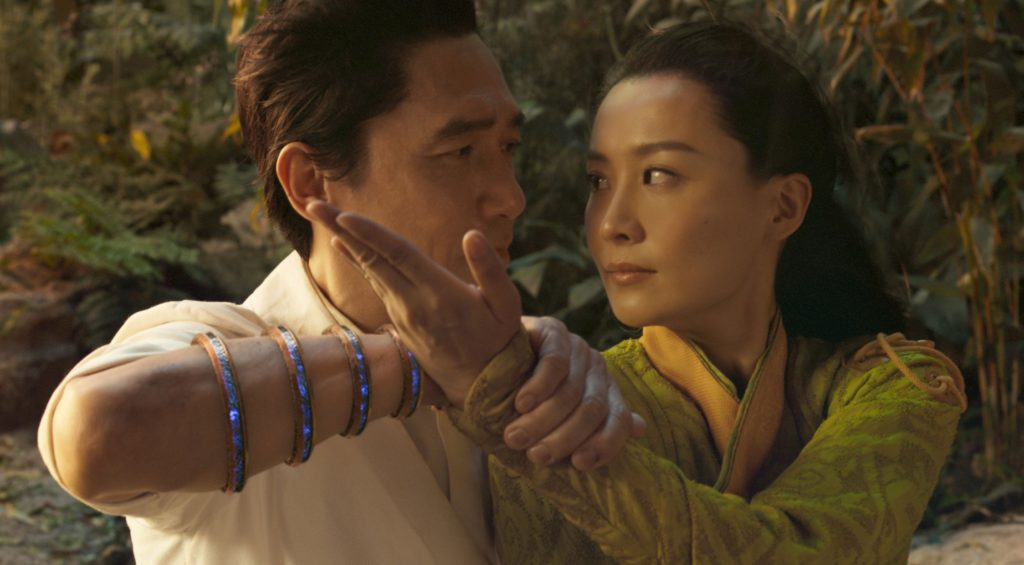 (L-R) Tony Leung and Fala Chen in Shang-Chi and the Legend of the Ten Rings (Marvel Studios)